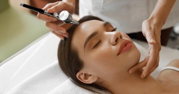Oxy Spray gun for facial treatment malaysia